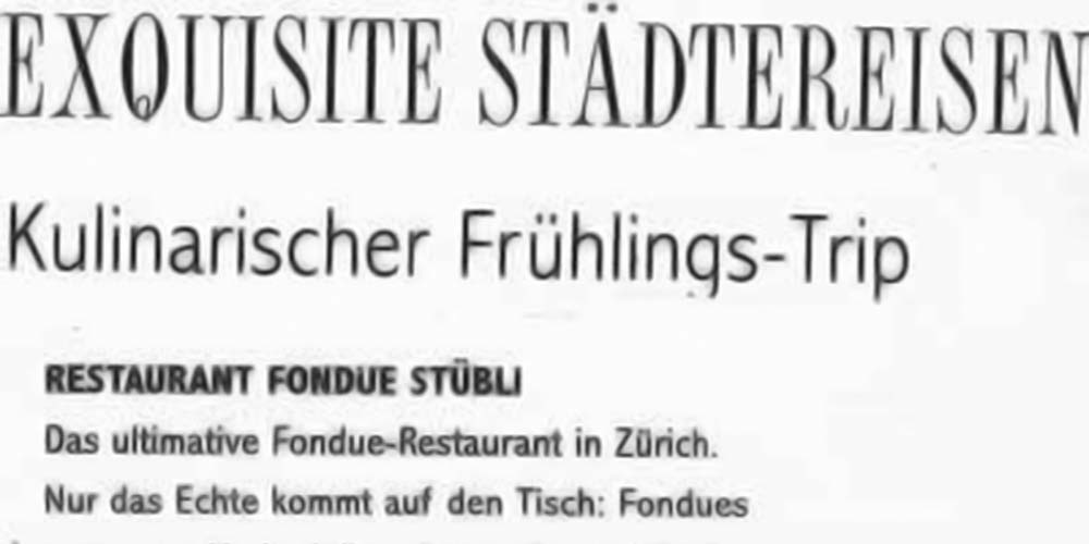 GENUSS Magazin – Kulinarischer Frühlings-Trip